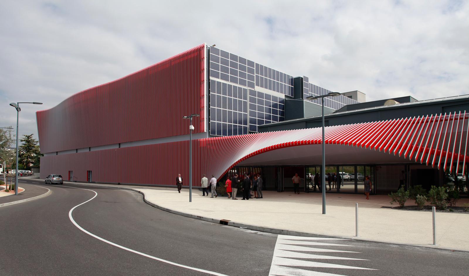 Palais des Congrès Montélimar - Z Architecture