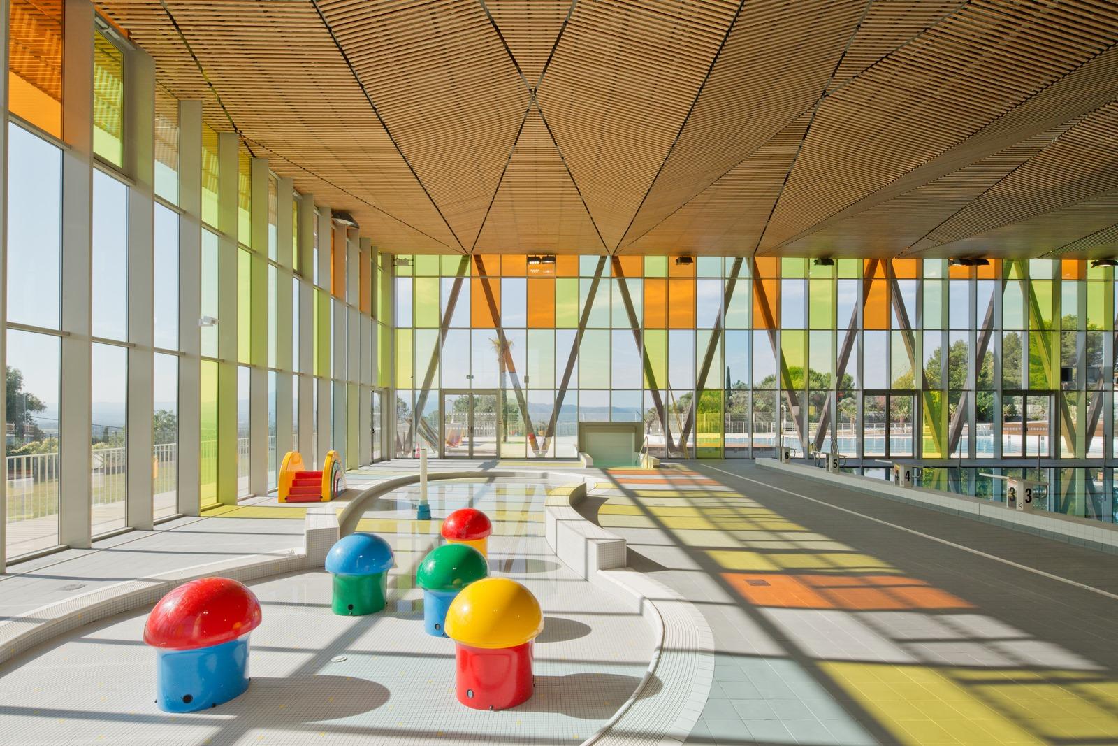Piscine Pertuis Durance Lubéron : pataugeoire - Z Architecture