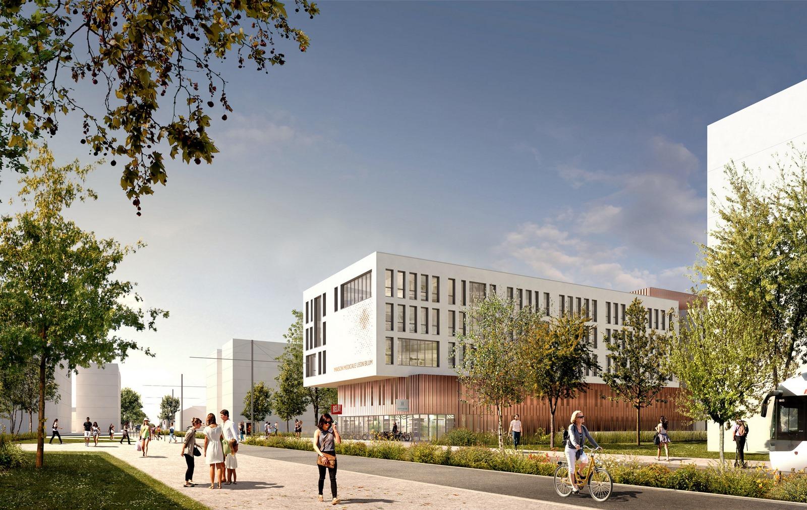 Centre de consultation libéral Léon Blum - Villeurbanne - Z Architecture