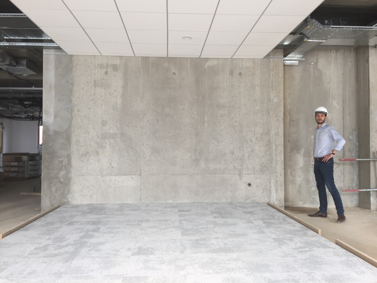 Siège ABB - Beynost : chantier - Z Architecture