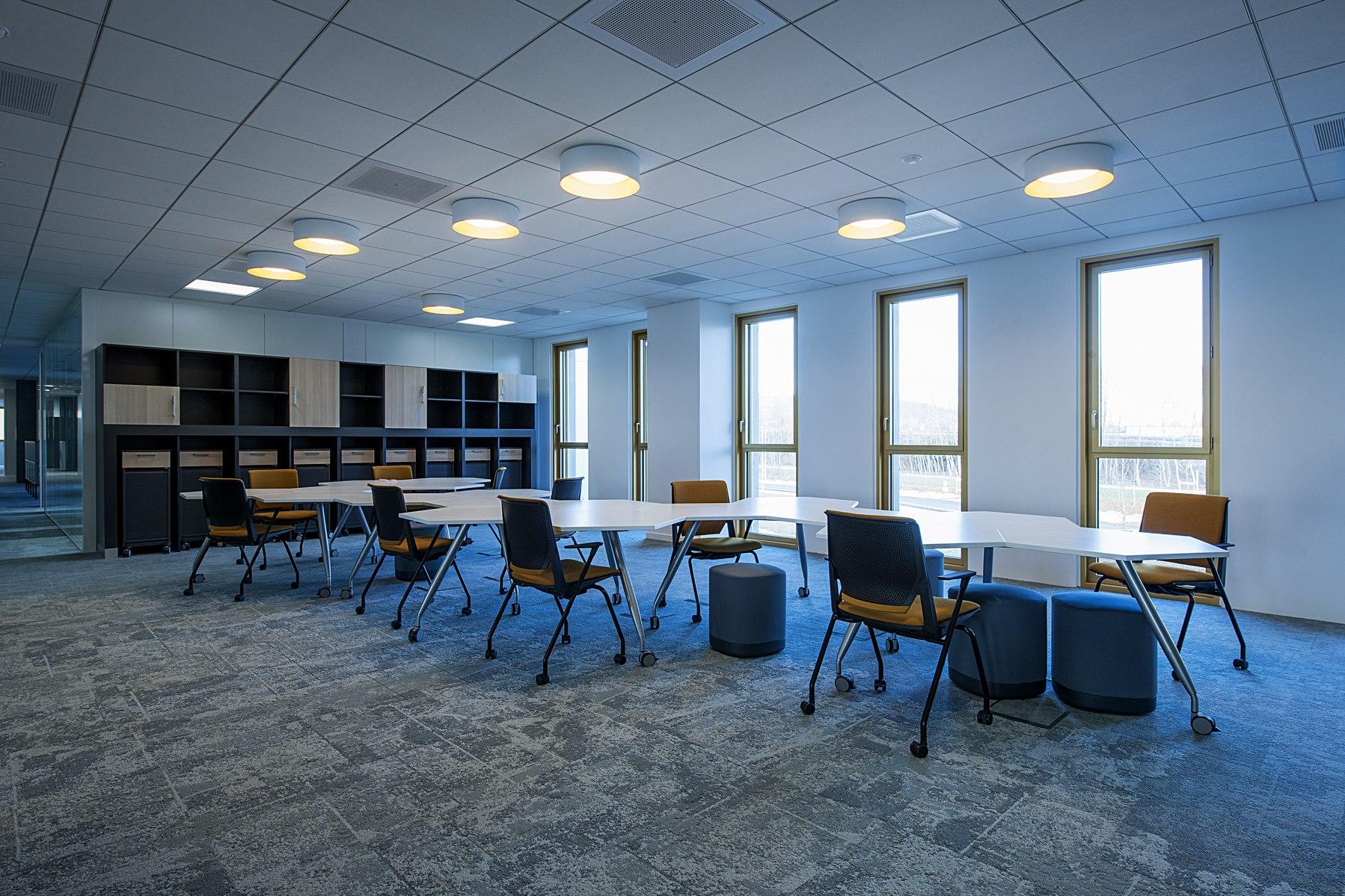 Siège ABB - Beynost : salle de réunion - Z Architecture