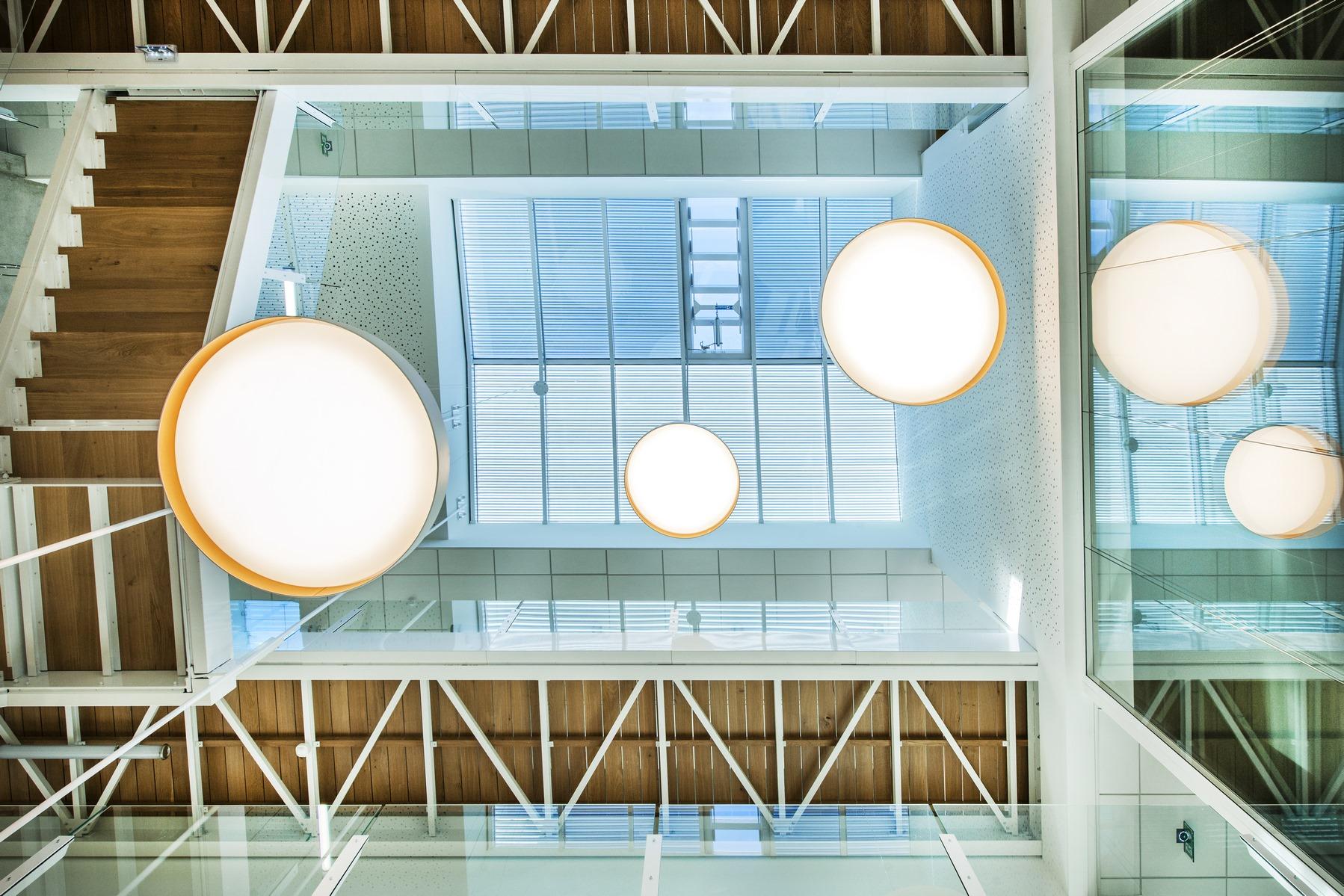 Siège ABB - Beynost : détail intérieur - Z Architecture