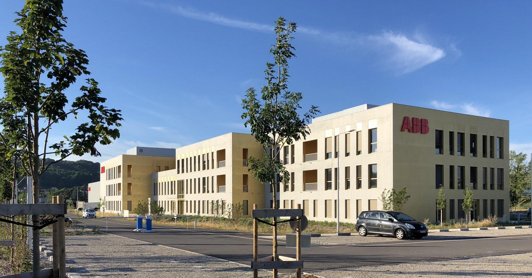 Siège ABB - Beynost : façade - Z Architecture