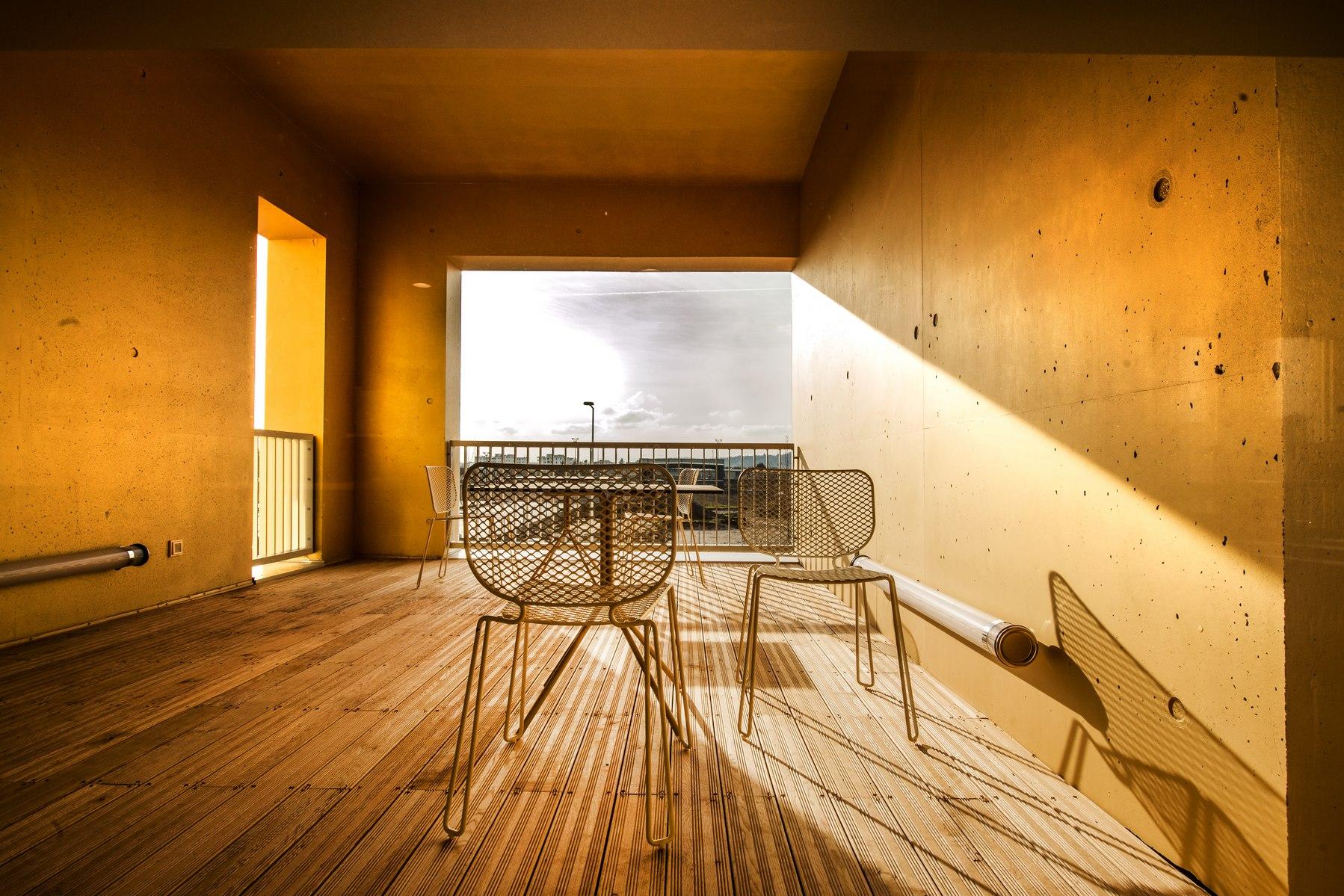 Siège ABB - Beynost : espace extérieur - Z Architecture