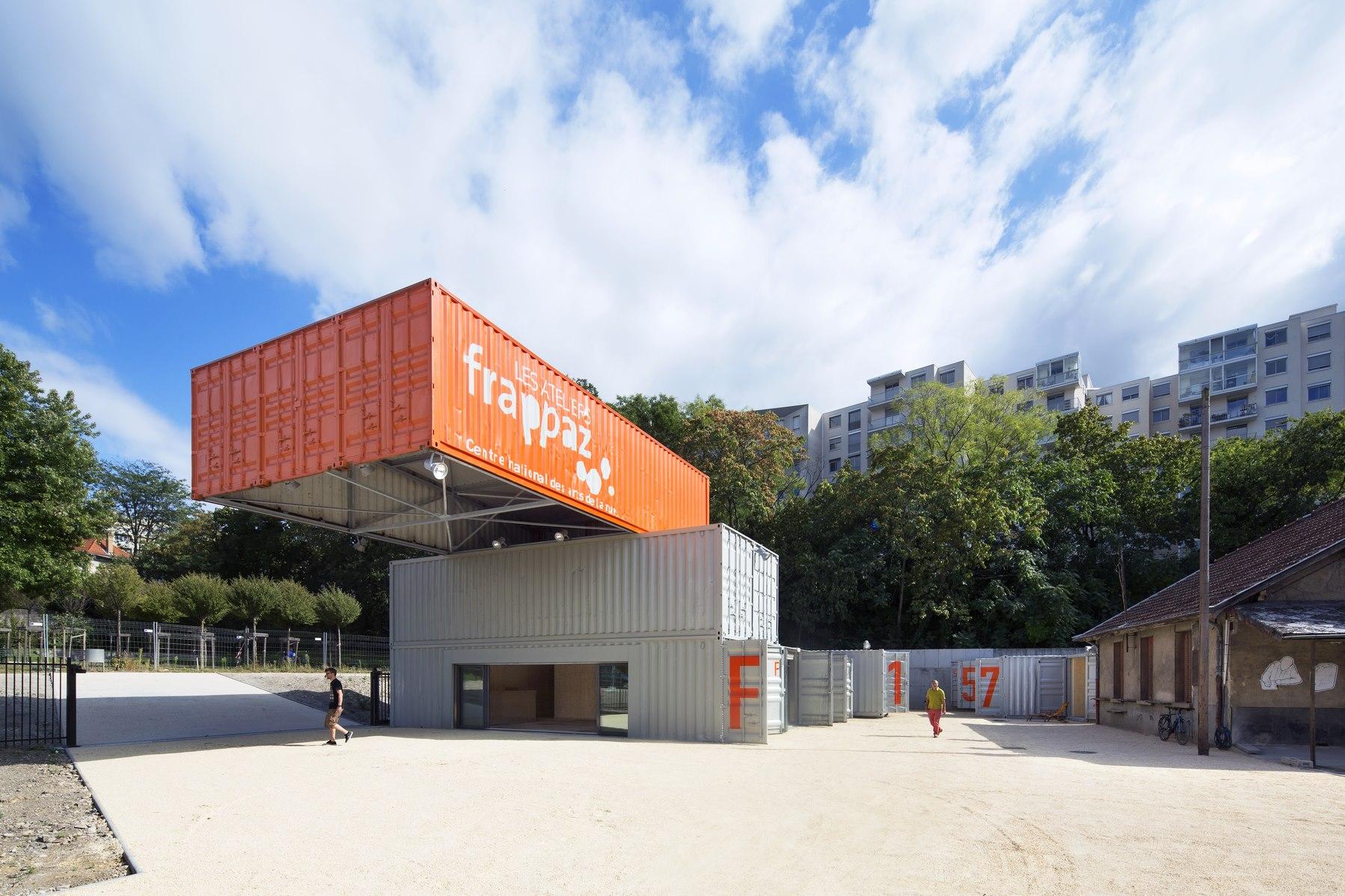 Ateliers Frappaz - Villeurbanne : containers - Z Architecture