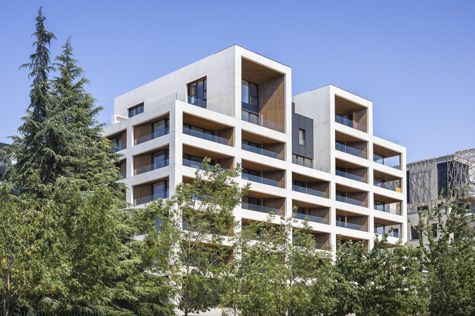 Ilot G / Les Loges de Saone - Lyon confluence : façade - Z Architecture