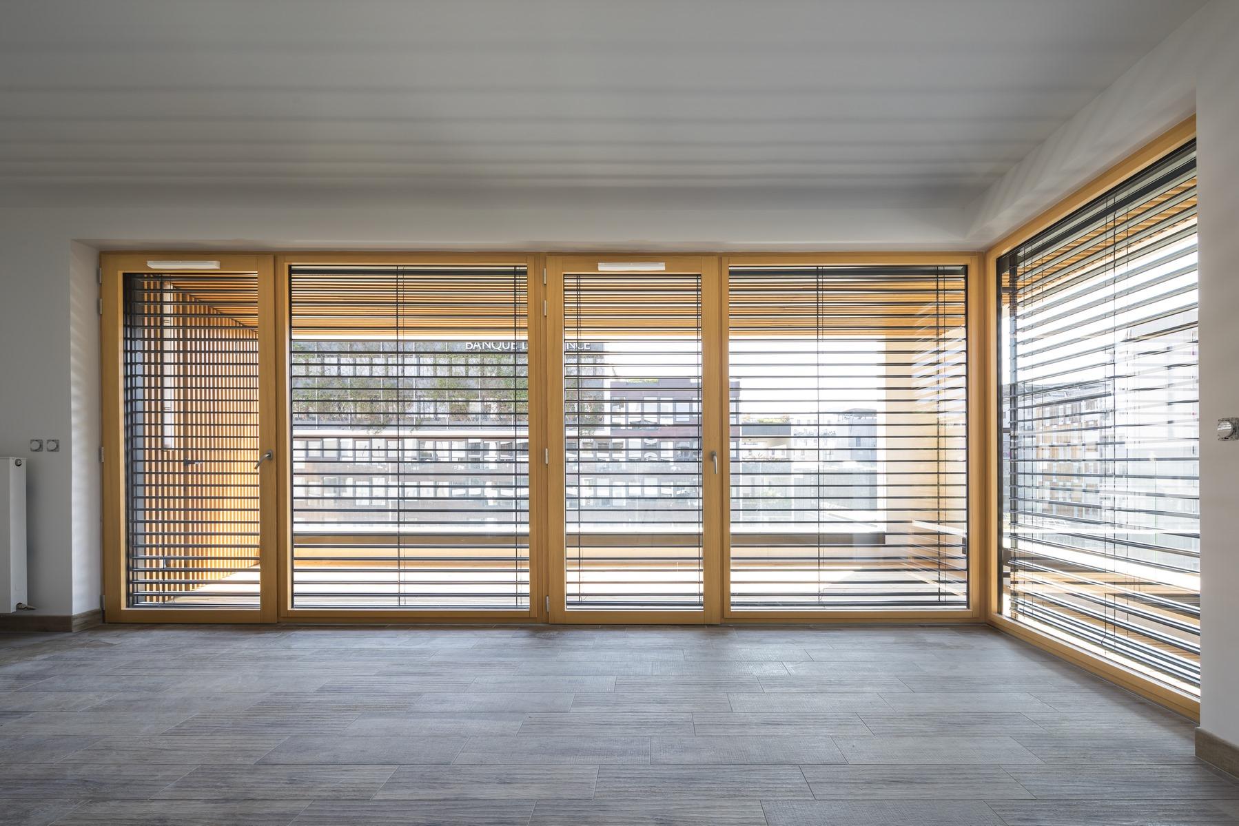 Ilot G / Les Loges de Saone - Lyon confluence : intérieur appartement- Z Architecture