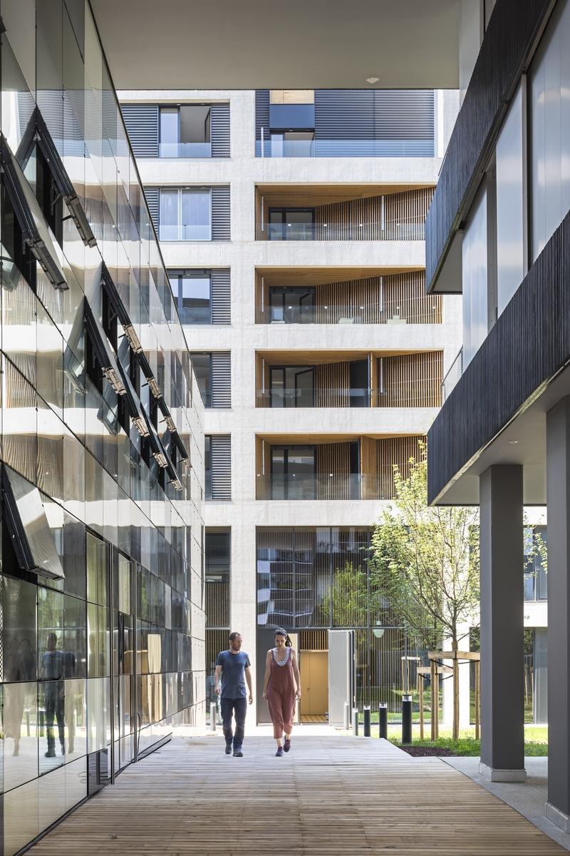 Ilot G / Les Loges de Saone - Lyon confluence - Z Architecture