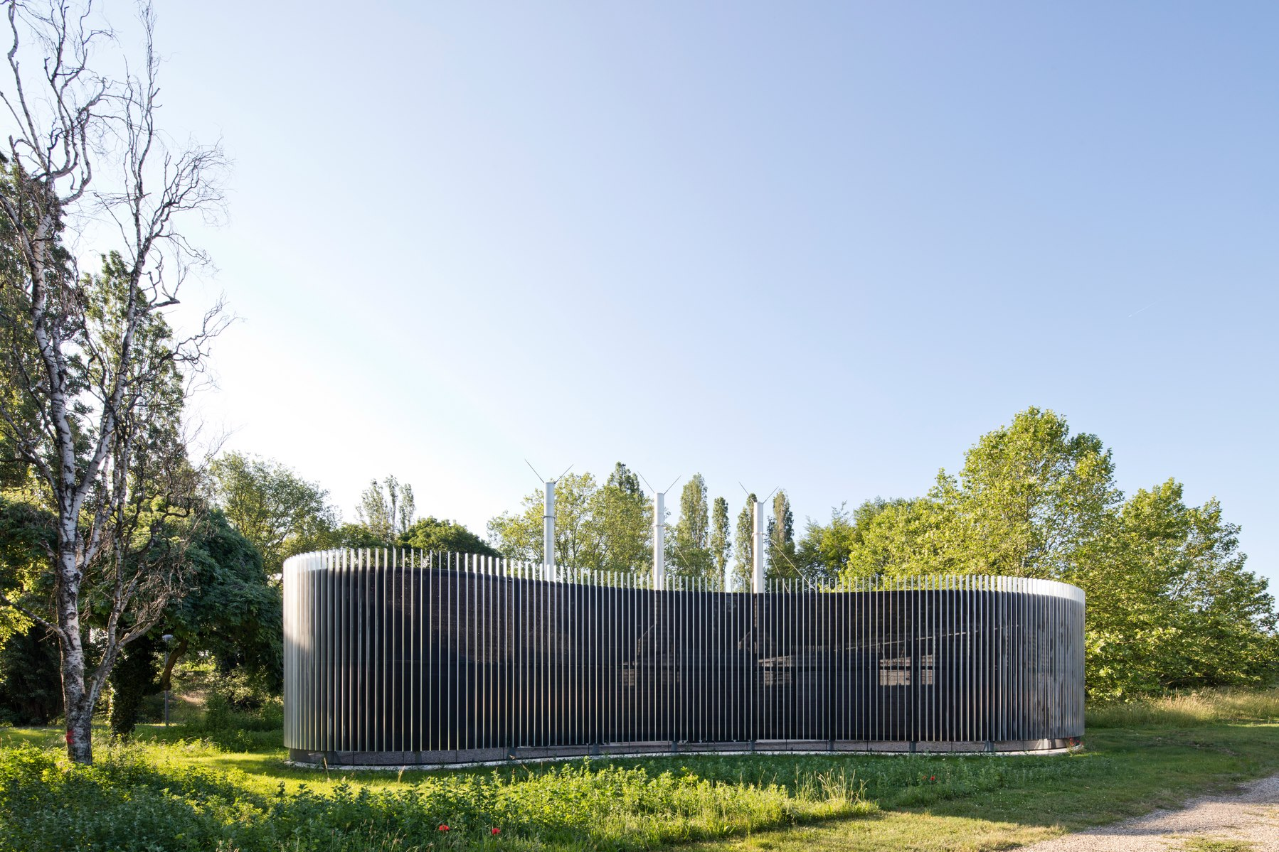 Centrale Groupes Électrogènes – CH Le Vinatier – Bron - Z Architecture