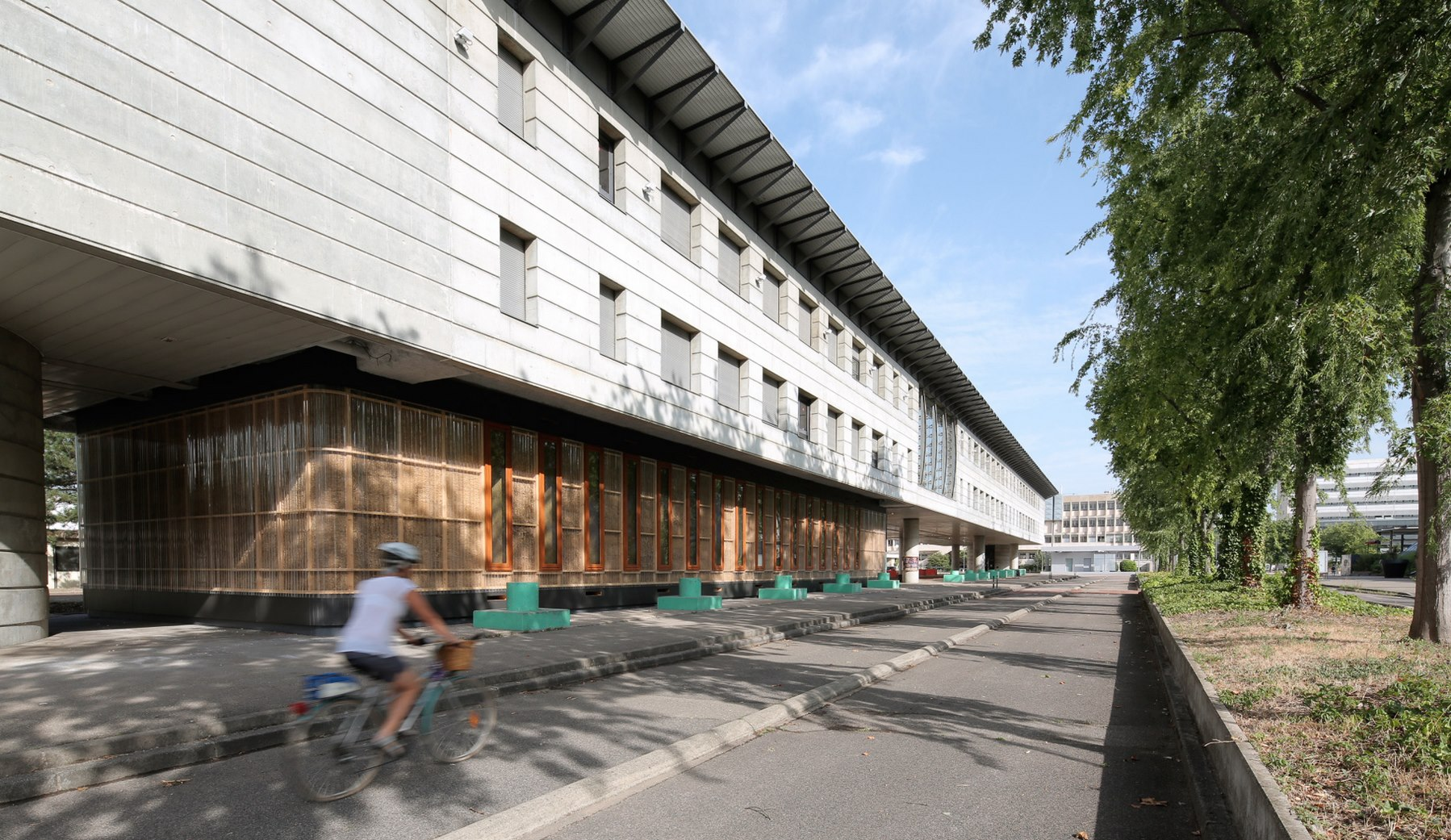Pré-fabrique de l'innovation - Campus LyonTech La Doua - Lyon - Villeurbanne - Z Architecture