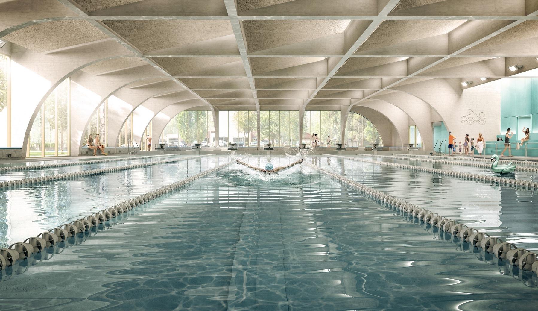 Piscine Bourgoin-Jallieu - Z Architecture
