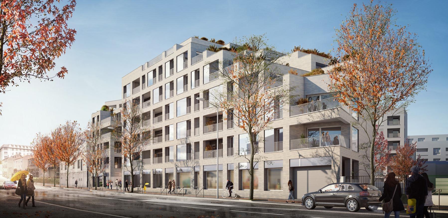 Les Hauts de Cuire - Caluire - Logements - Z Architecture