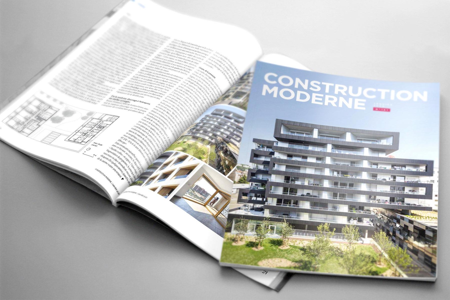 Construction Moderne - Ilot G Lyon - Z Architecture