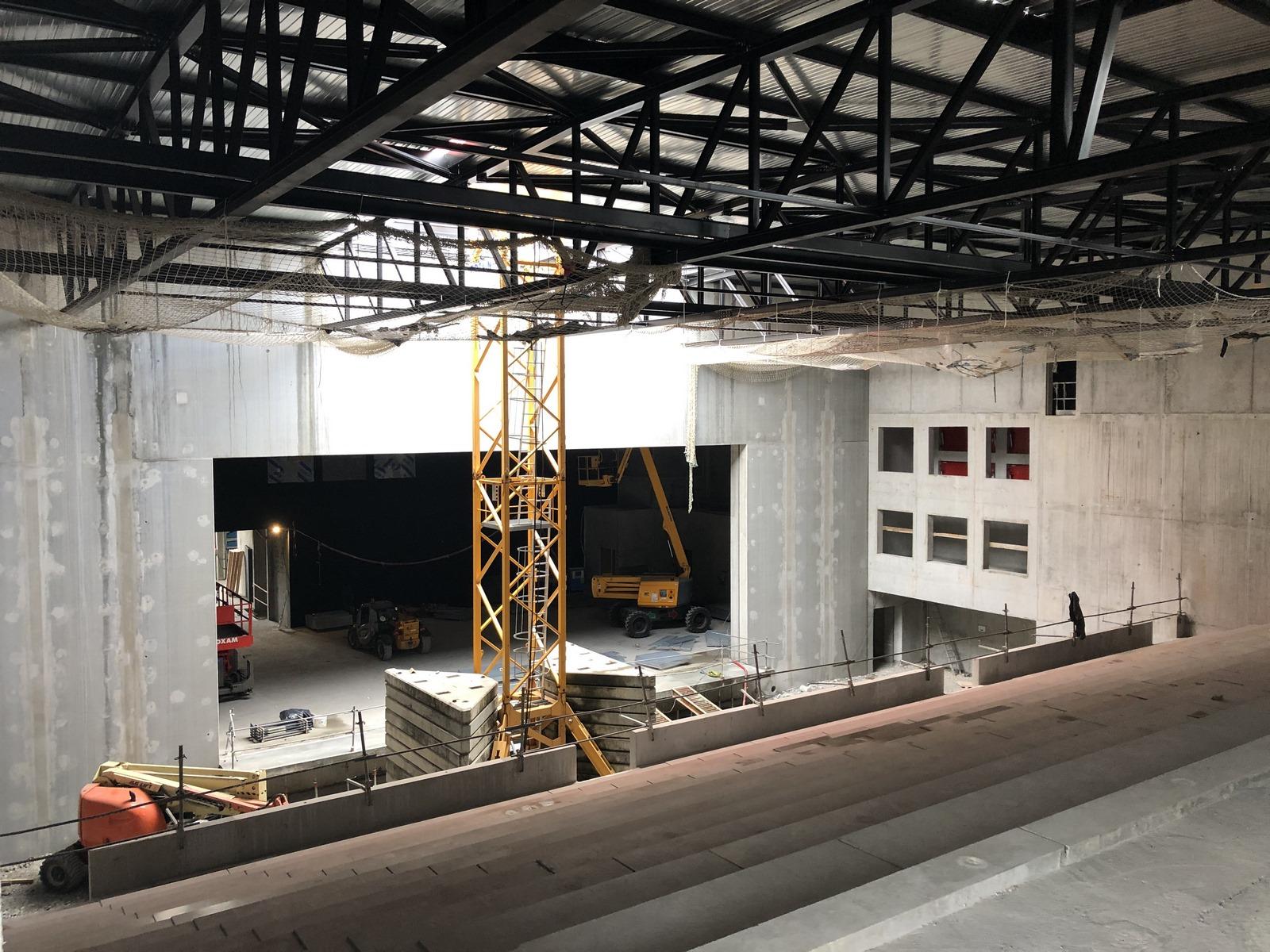 Centre Culturel Château Rouge - Annemasse - Z Architecture - chantier