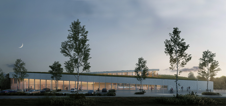 Piscine intercommunale de Crecy - Z Architecture