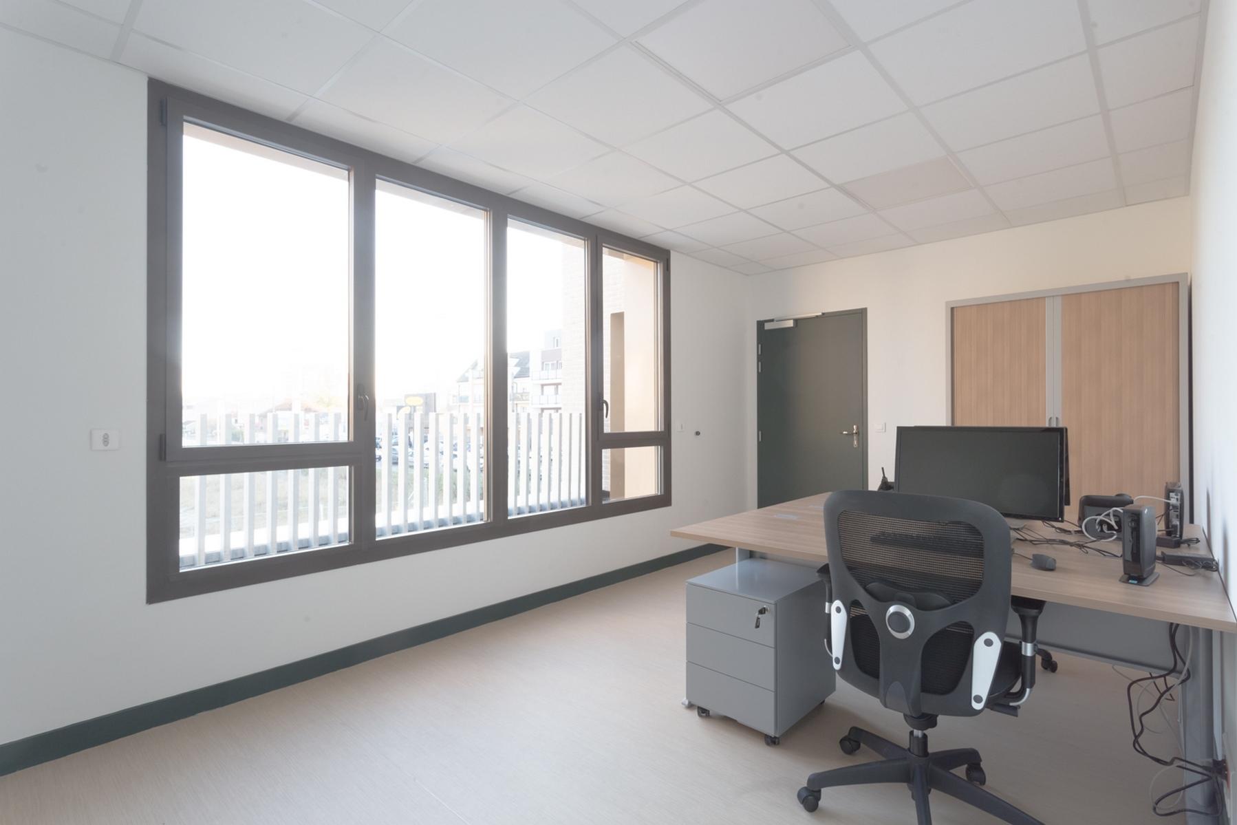 Poste de Police Municipale - Villepinte - Z Architecture - bureau