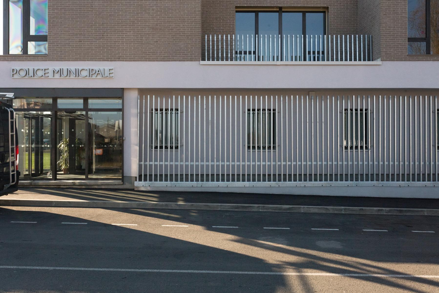 Poste de Police Municipale - Villepinte - Z Architecture