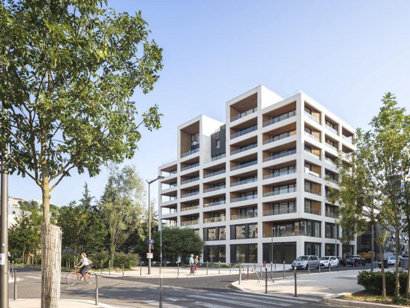 """Ilot G, """"les Loges de Saône"""" - Lyon Confluence - Z Architecture"""