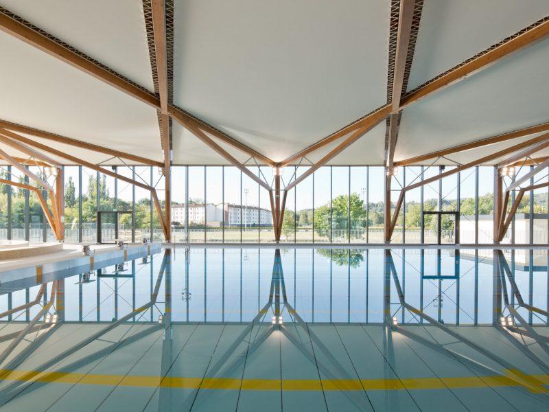 Piscine des Balcons du Dauphiné - Morestel - Z Architecture