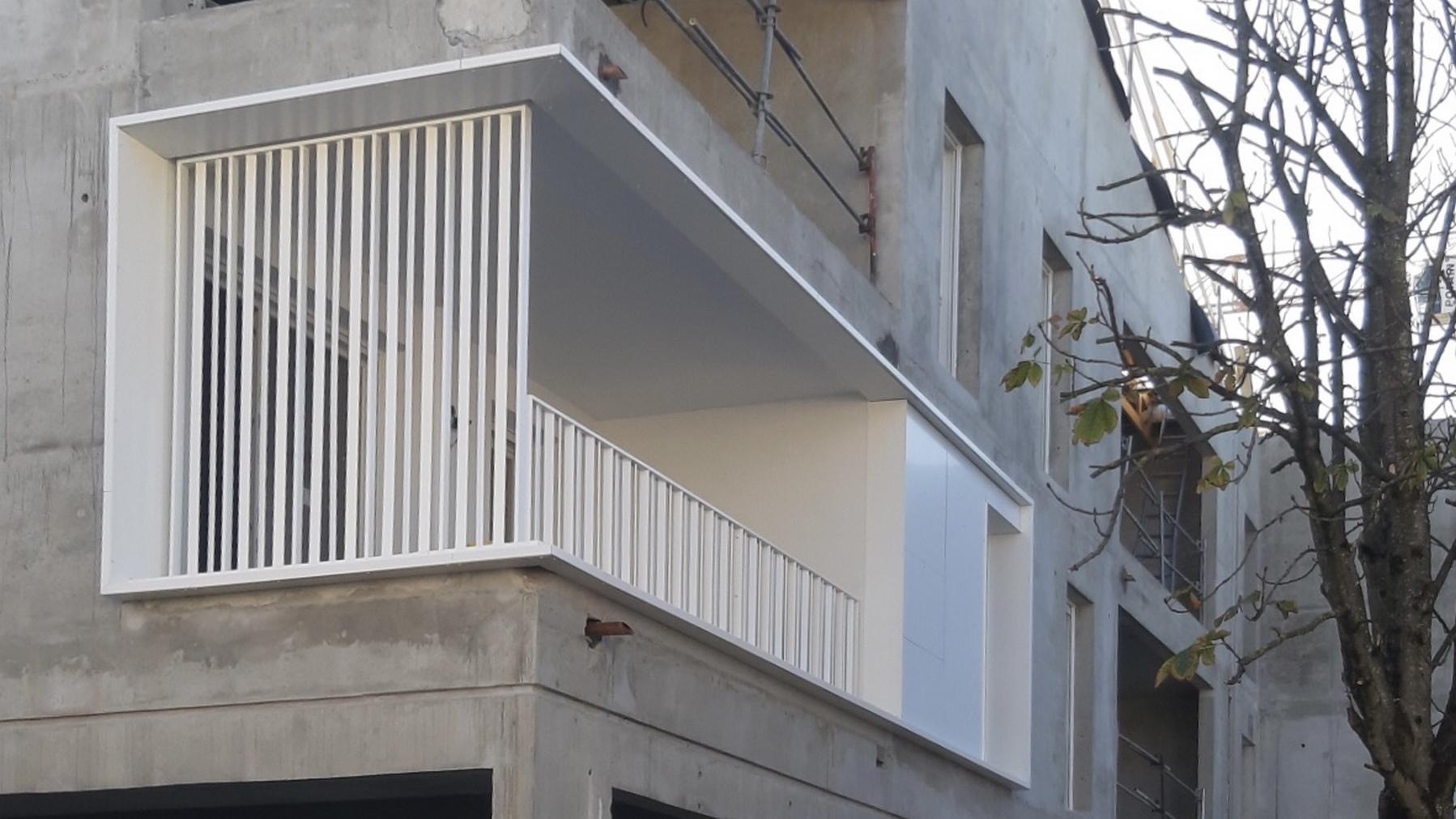 Les Marronniers - logements - La Verpillière - Z Architecture - chantier - prototype