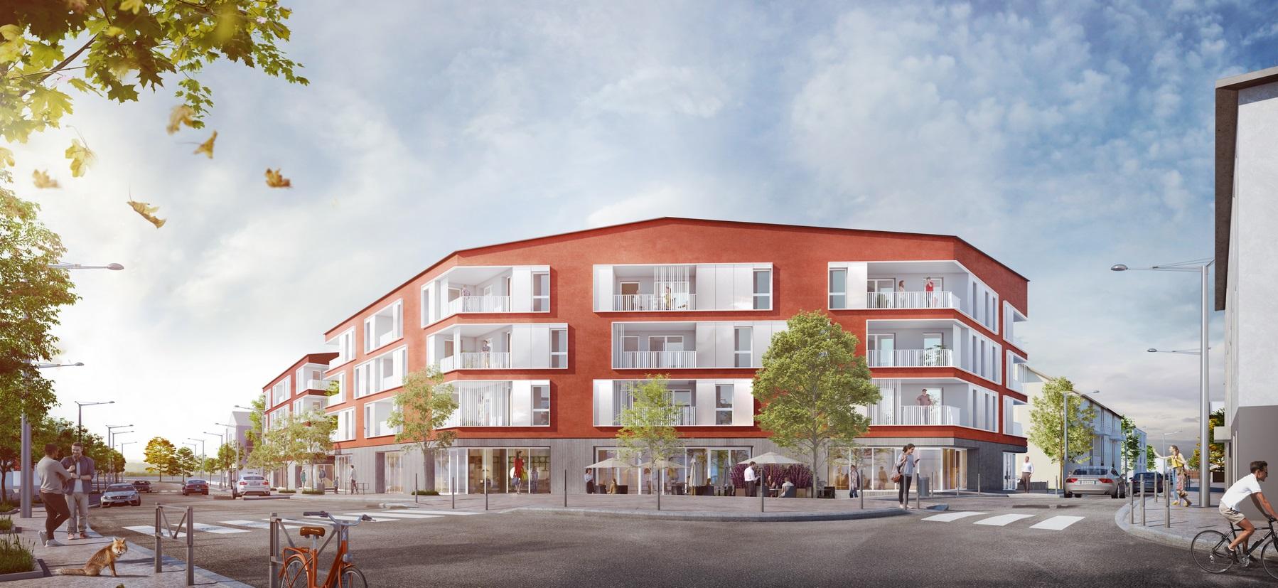 Les Marronniers - logements - La Verpillière - Z Architecture