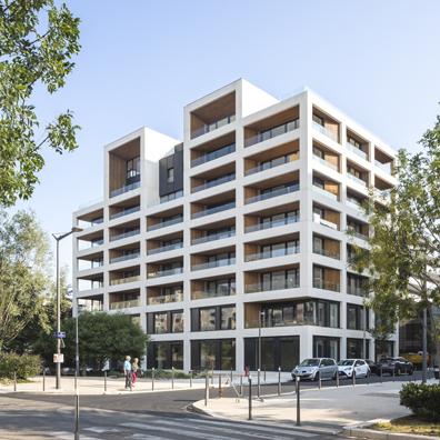 """Ilot G, """"les Loges de Saône"""" - Lyon Confluence - Z Architecturere"""