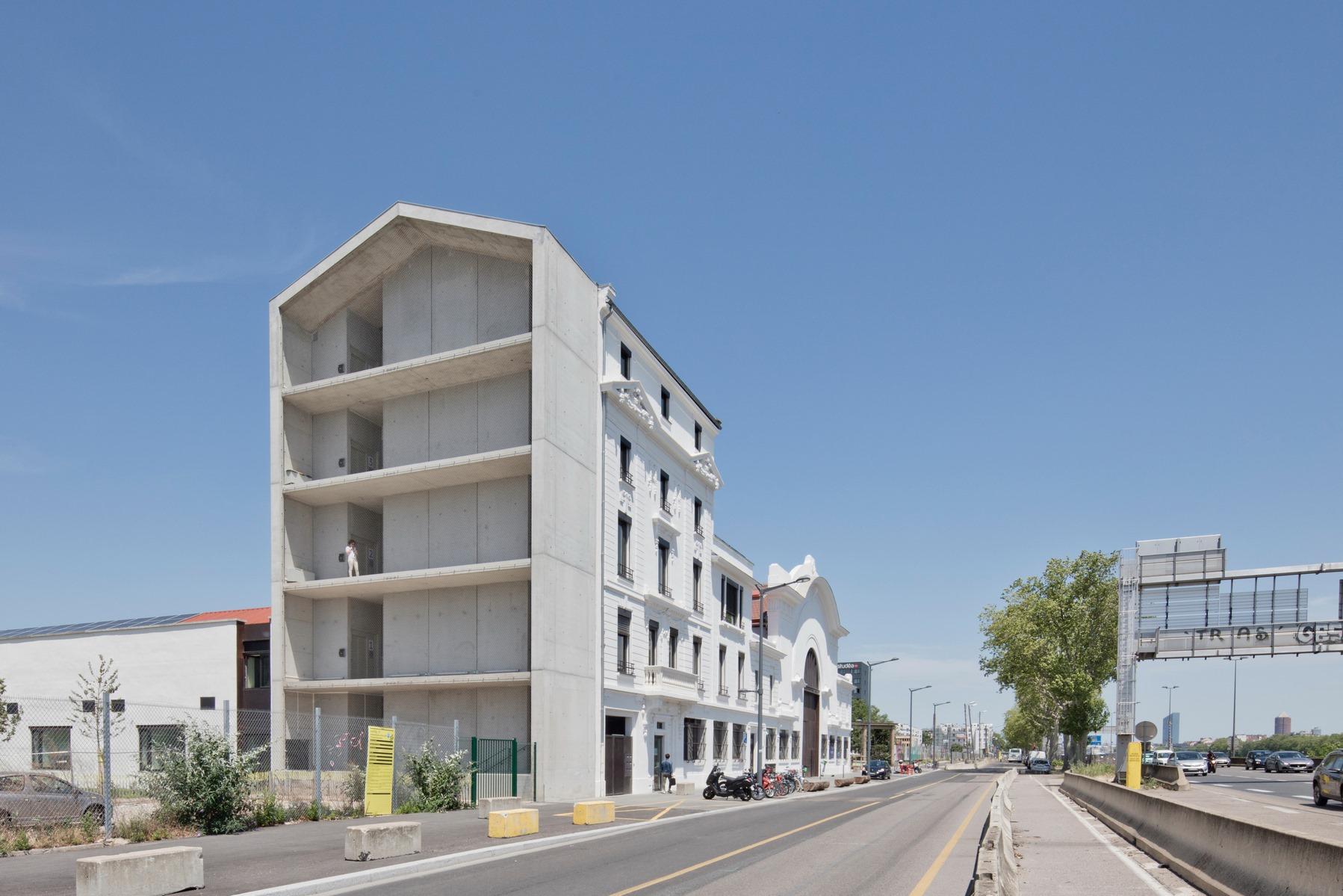 Hub créatif « Hôtel 71 » – Lyon Confluence - Z Architecture