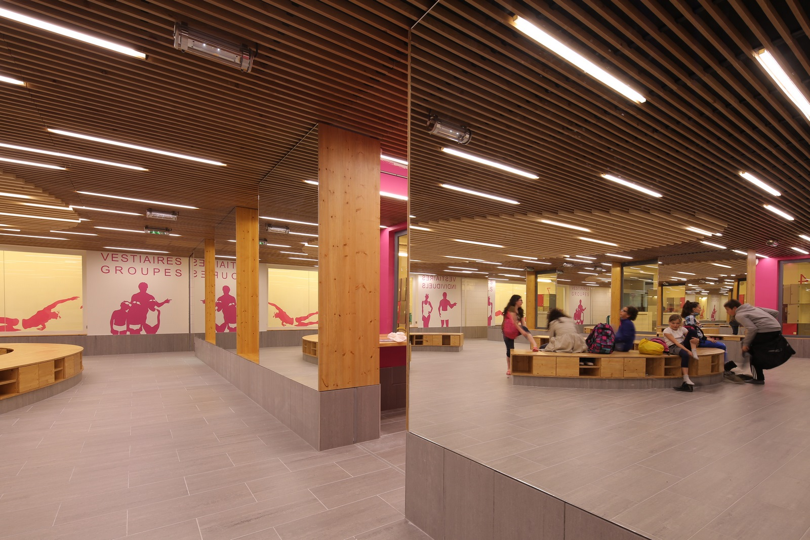 Centre Nautique Etienne Gagnaire (CNEG) - Villeurbanne - Z Architecture