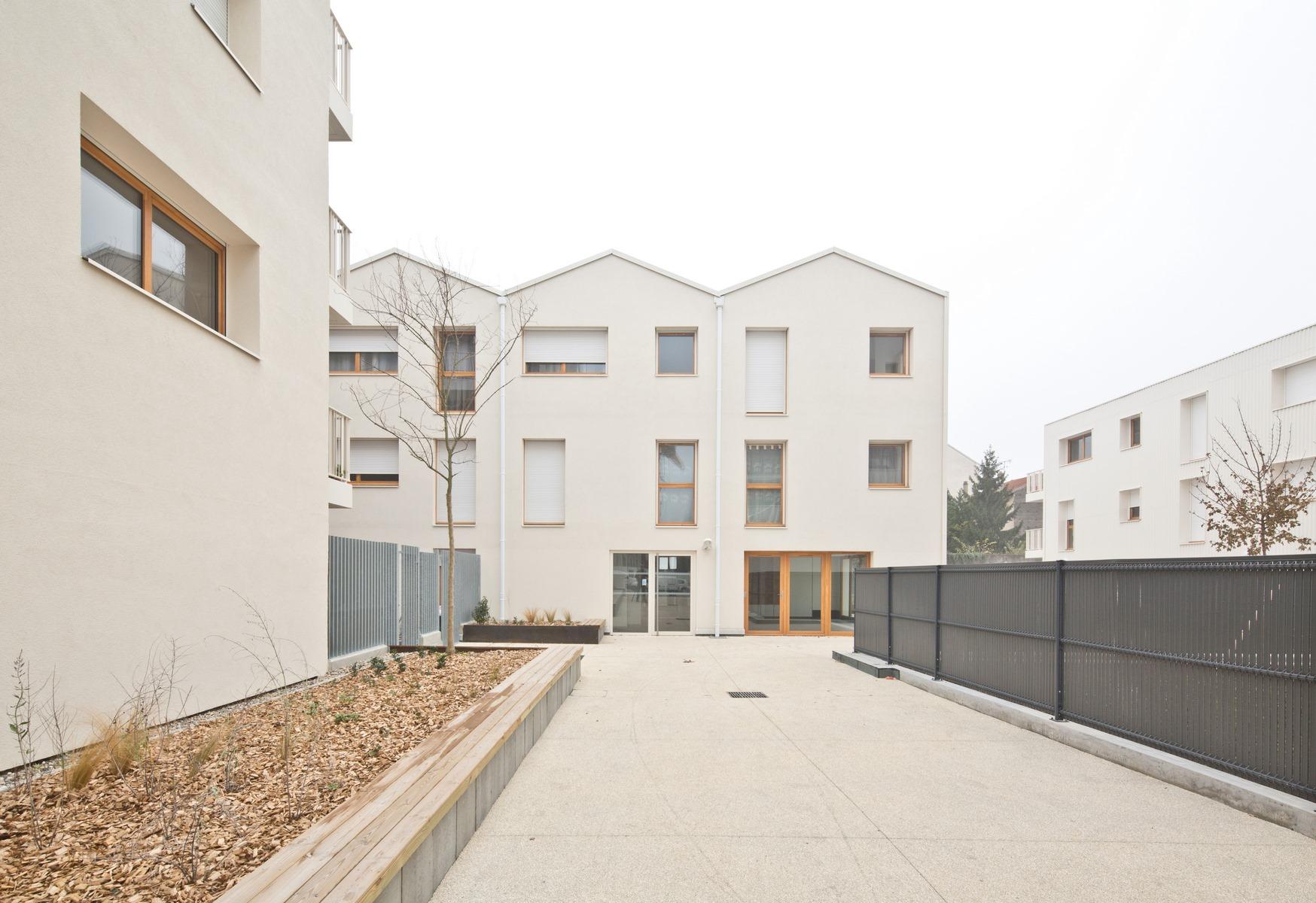 Nova Urbana : ensemble de 50 logements - Villeurbanne - Z Architecture