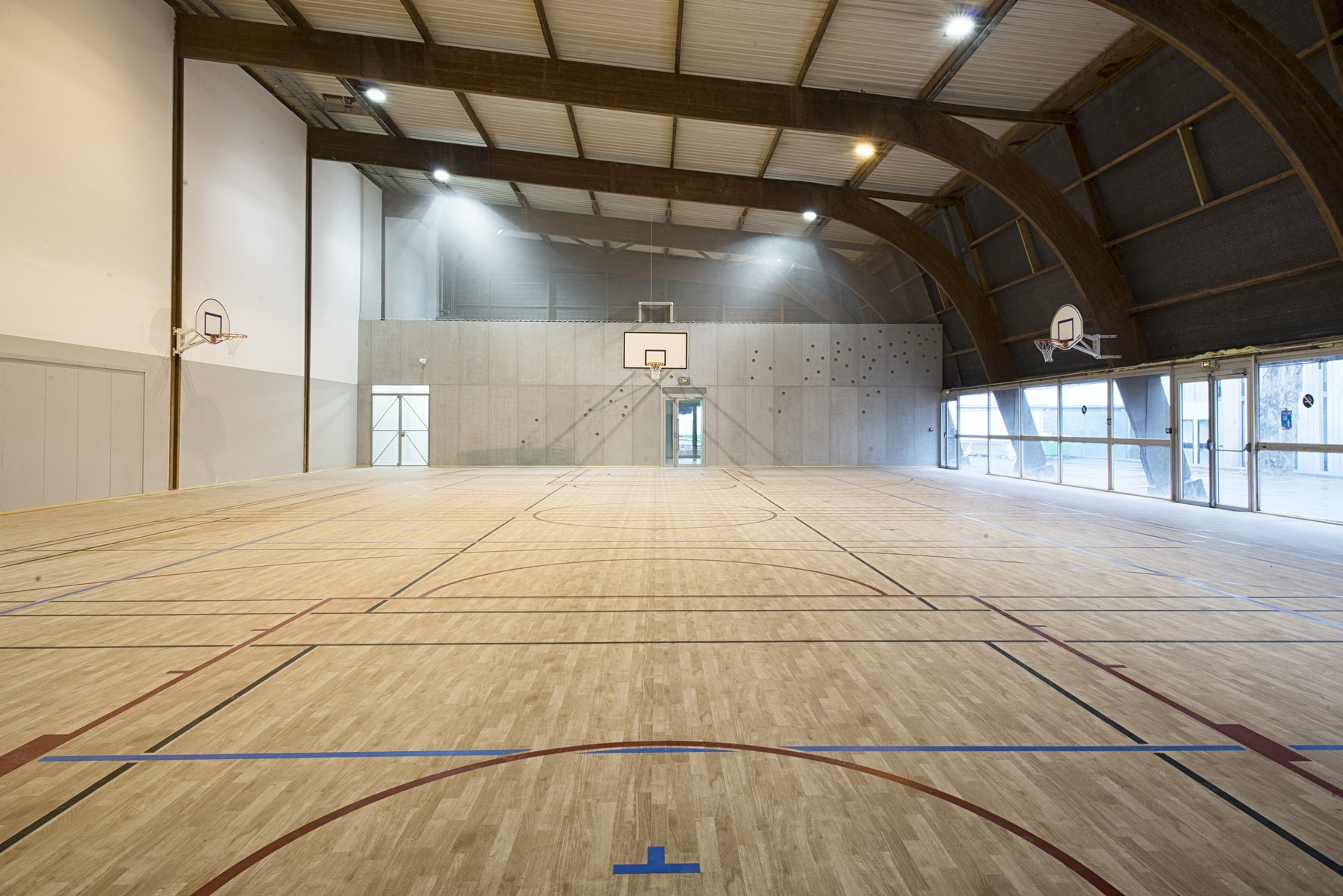 Éco-Gymnase du Stade Géo André - Paris 16ème - Z Architecture