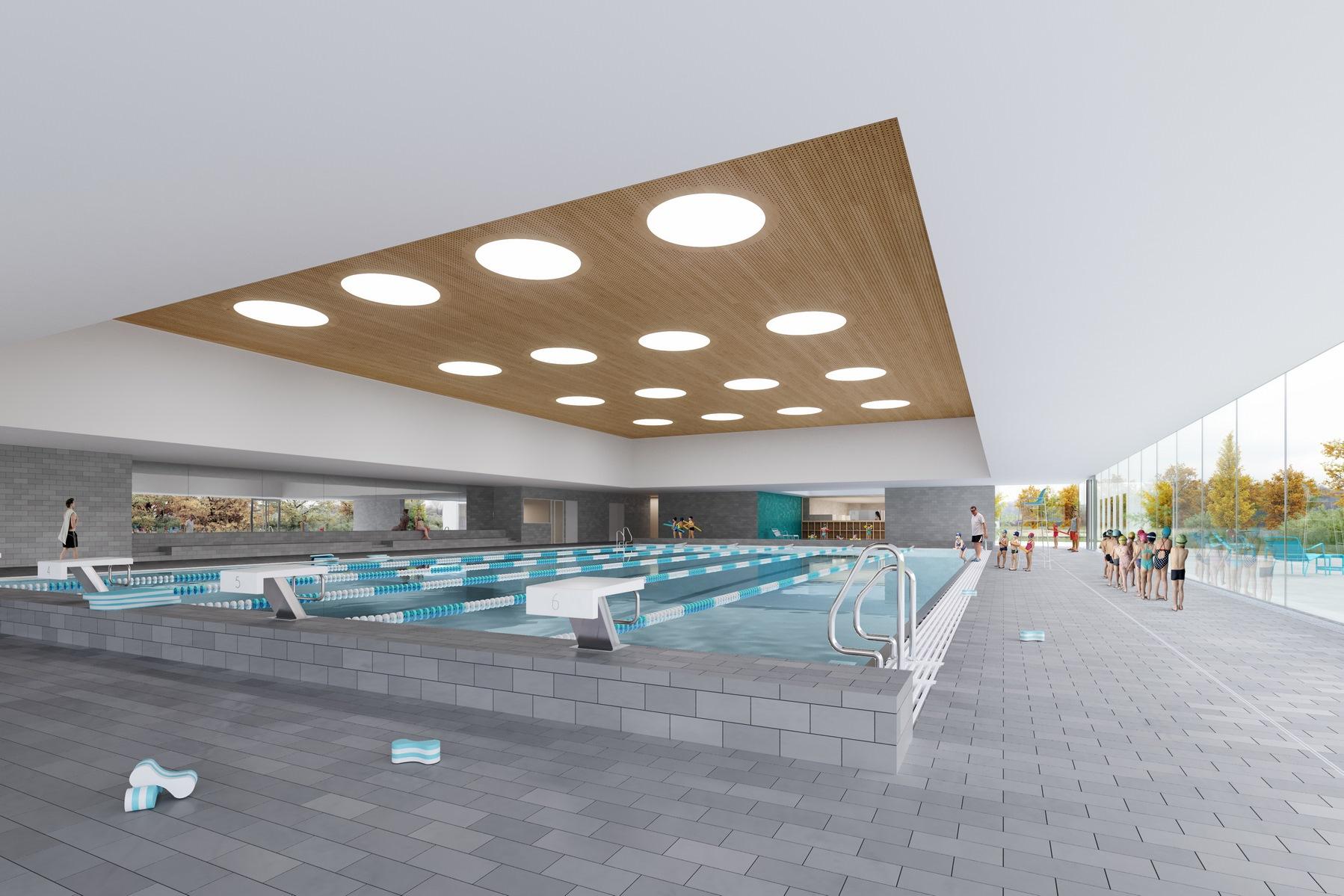 Nouvelle piscine de Moirans - Z Architecture