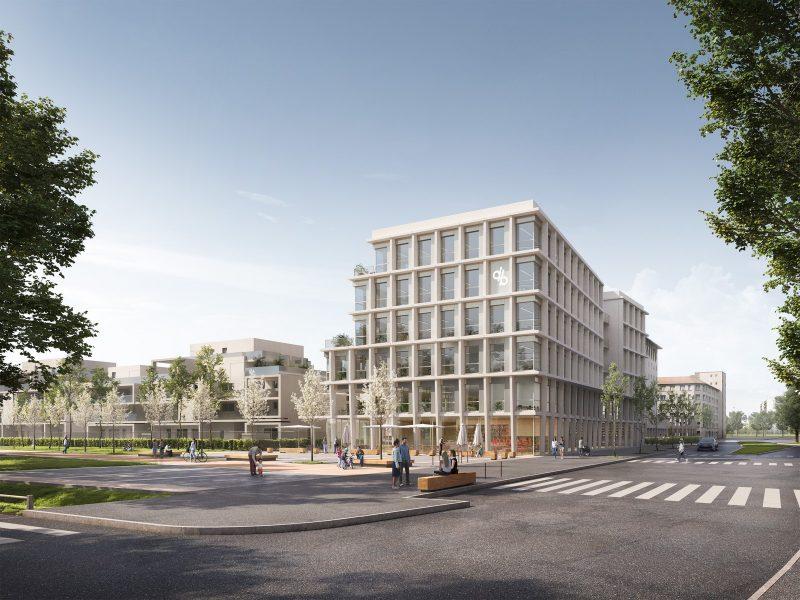Siège régional Demathieu Bard - Villeurbanne - Z Architecture