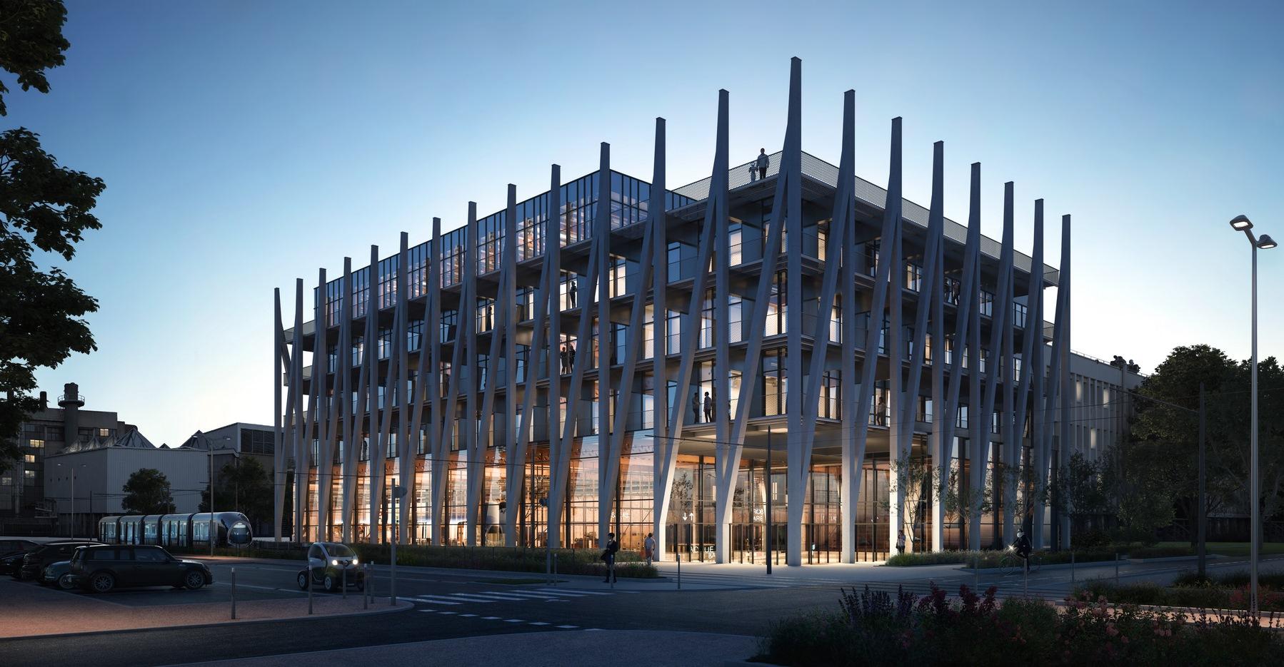 I-Factory, la Fabrique de l'Innovation - Campus LyonTech La Doua - Villeurbanne - Z Architecture