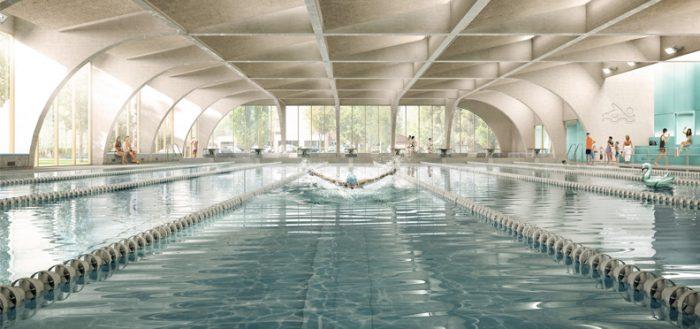Piscine Bourgoin-Jallieu - Z Architecture (accueil)