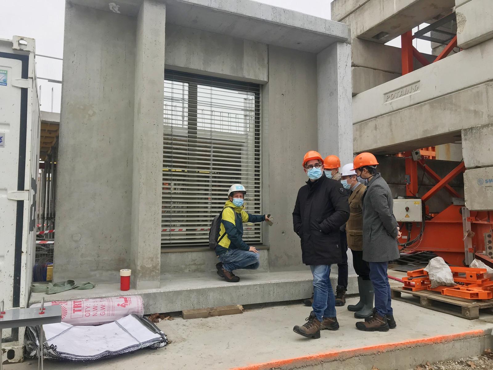Siège régional Demathieu Bard - Villeurbanne - Z Architecture - chantier