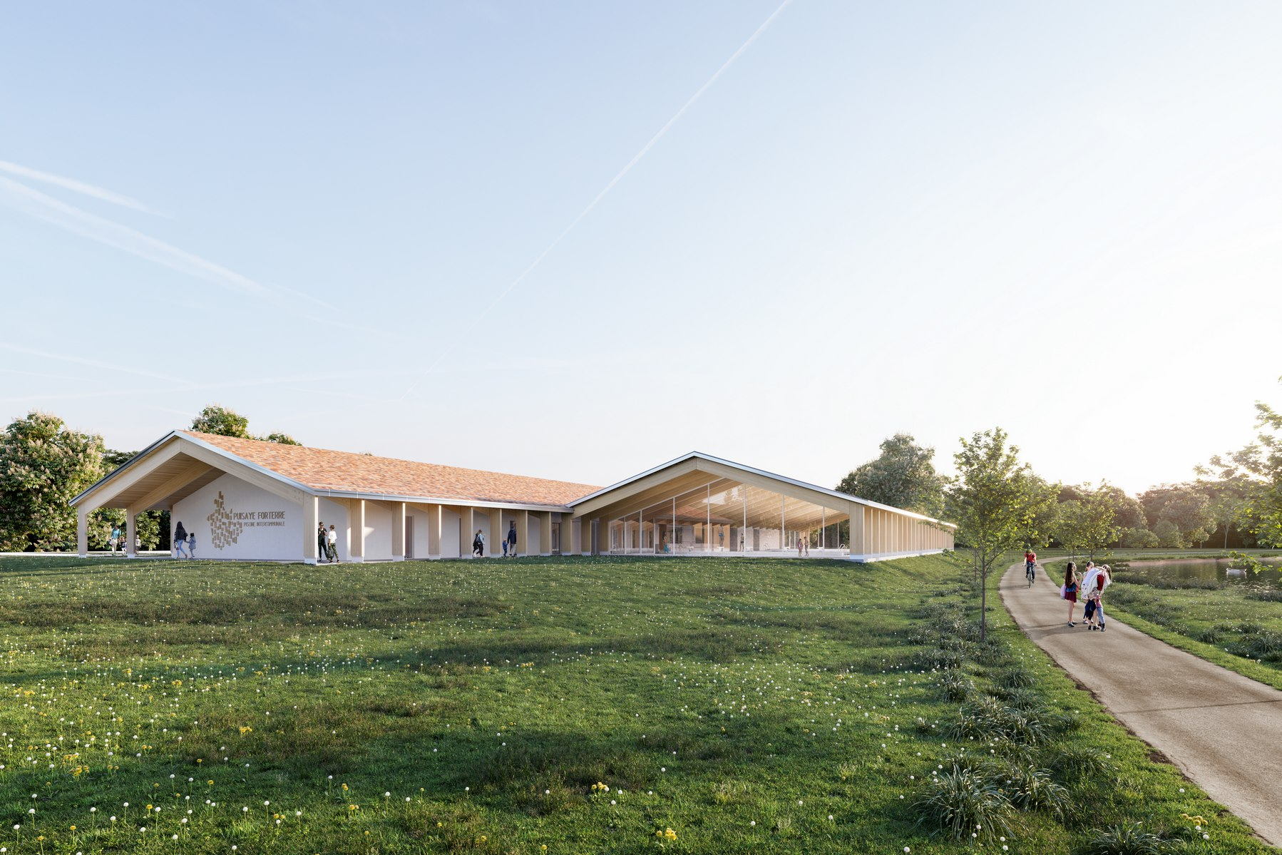 Piscine intercommunale de Toucy - Z Architecture