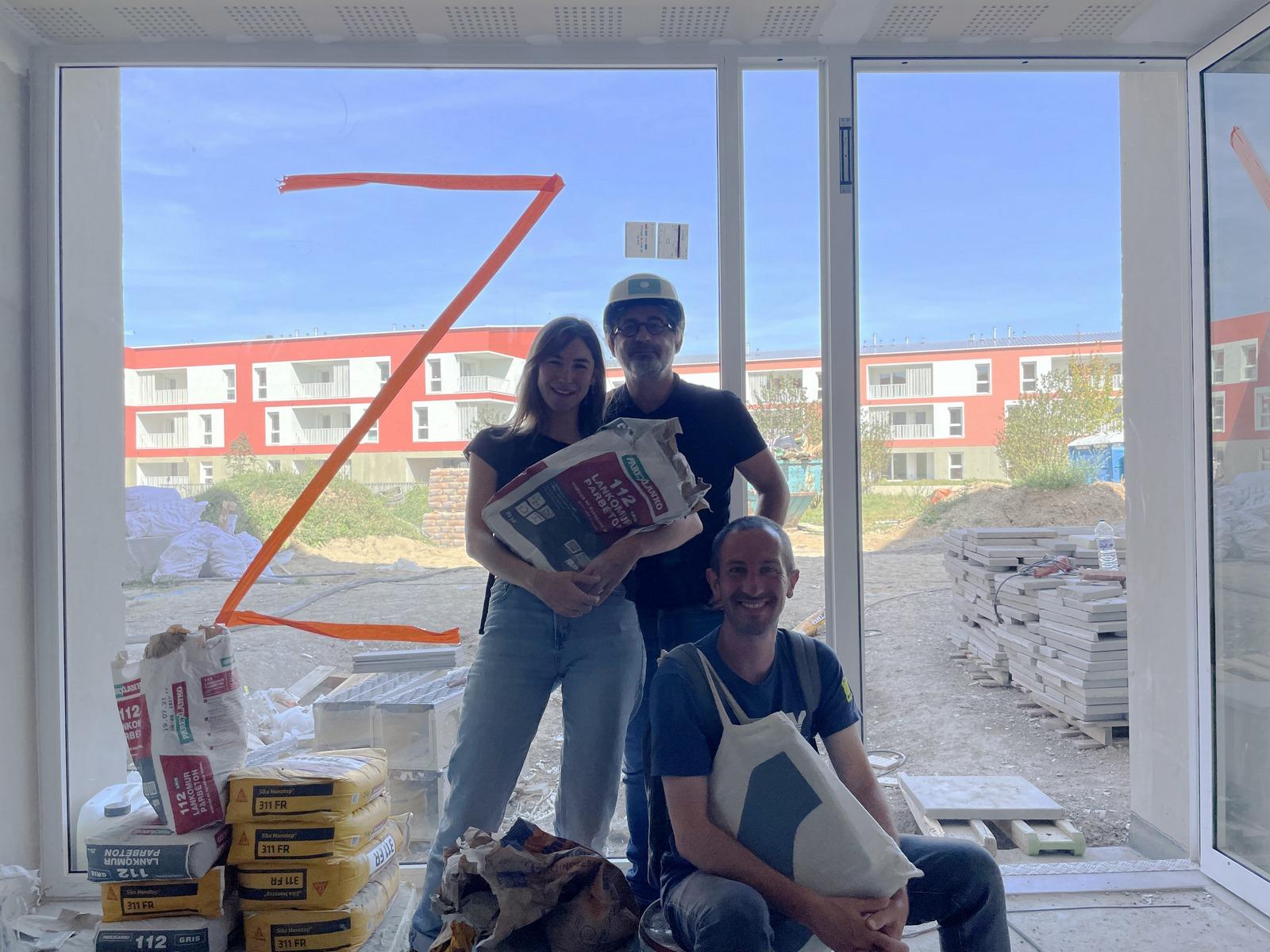 Les Marronniers - logements - La Verpillière - Z Architecture - chantier - équipe