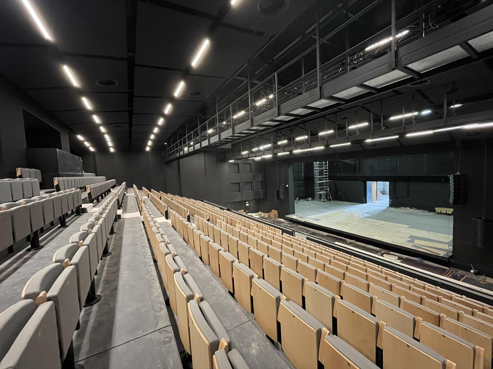 Centre Culturel Château Rouge Annemasse - Z Architecture - chantier