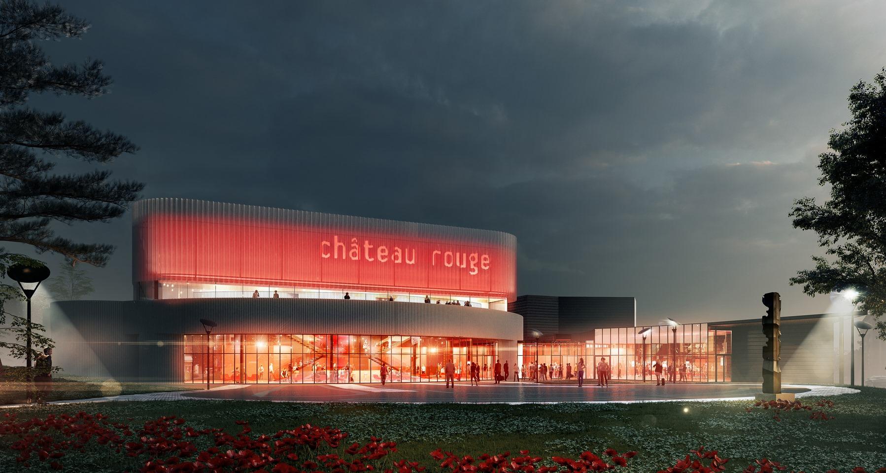 Centre Culturel Château Rouge Annemasse - Z Architecture