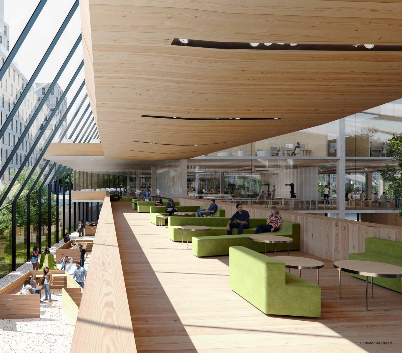 EM Business School - Lyon Gerland - Snøhetta / AA Group / Z Architecture