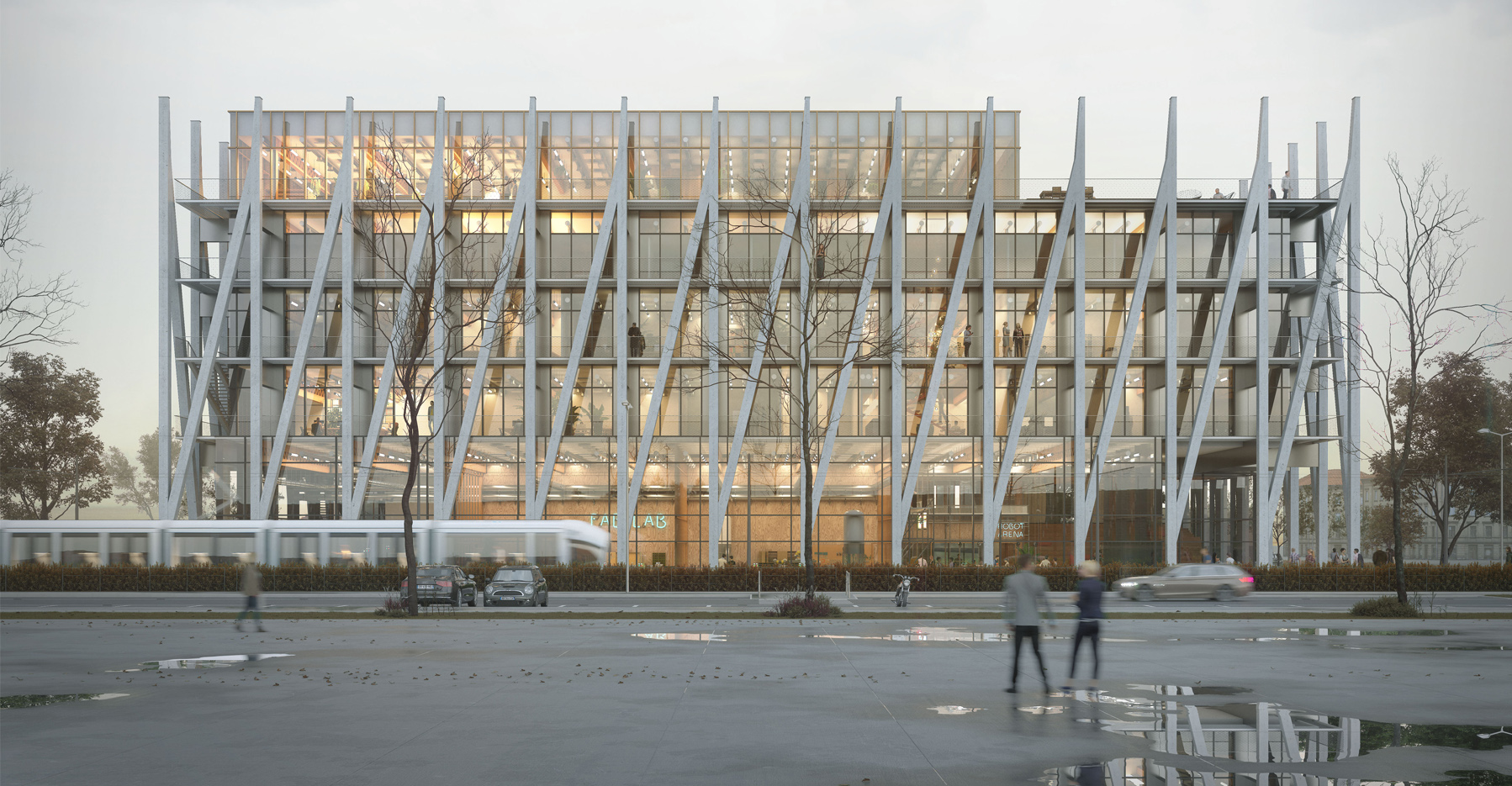 I-Factory, la Fabrique de l'Innovation - Villeurbanne - Z Architecture