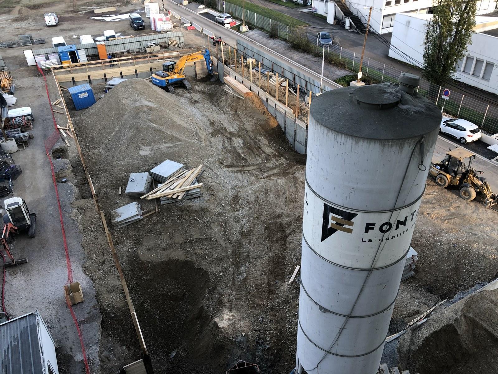 Zac des Puisoz - Grand Parilly - Vénissieux - chantier - Z Architecture