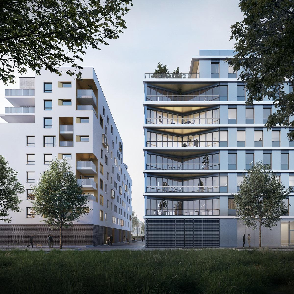 Zac des Puisoz - Grand Parilly - Vénissieux - Z Architecture
