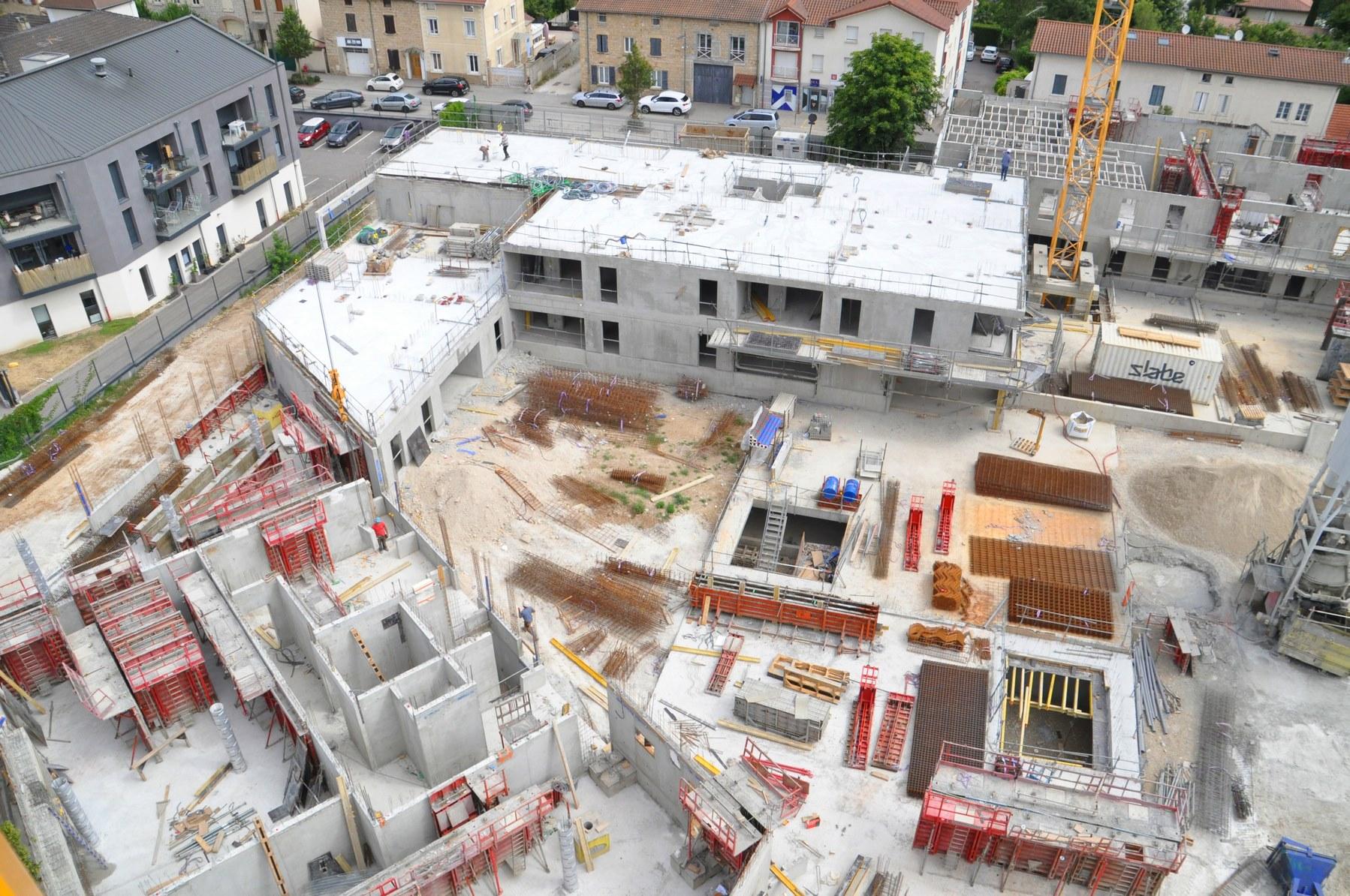 Côté Nature - Logements - La Verpilière - Z Architecture - chantier