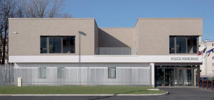 Poste de Police Municipale - Villepinte - Z Architecture - vignette accueil