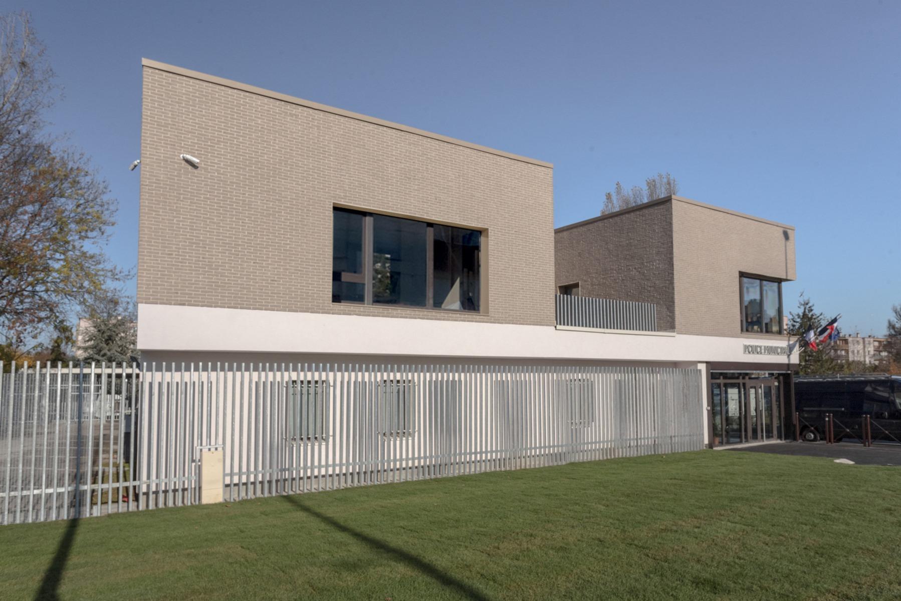 Poste de Police Municipale - Villepinte - Z Architecture - façade