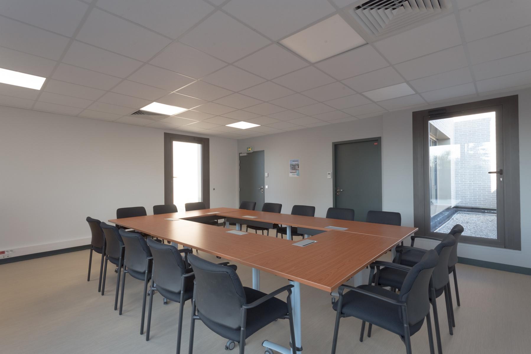 Poste de Police Municipale - Villepinte - Z Architecture - salle de réunion