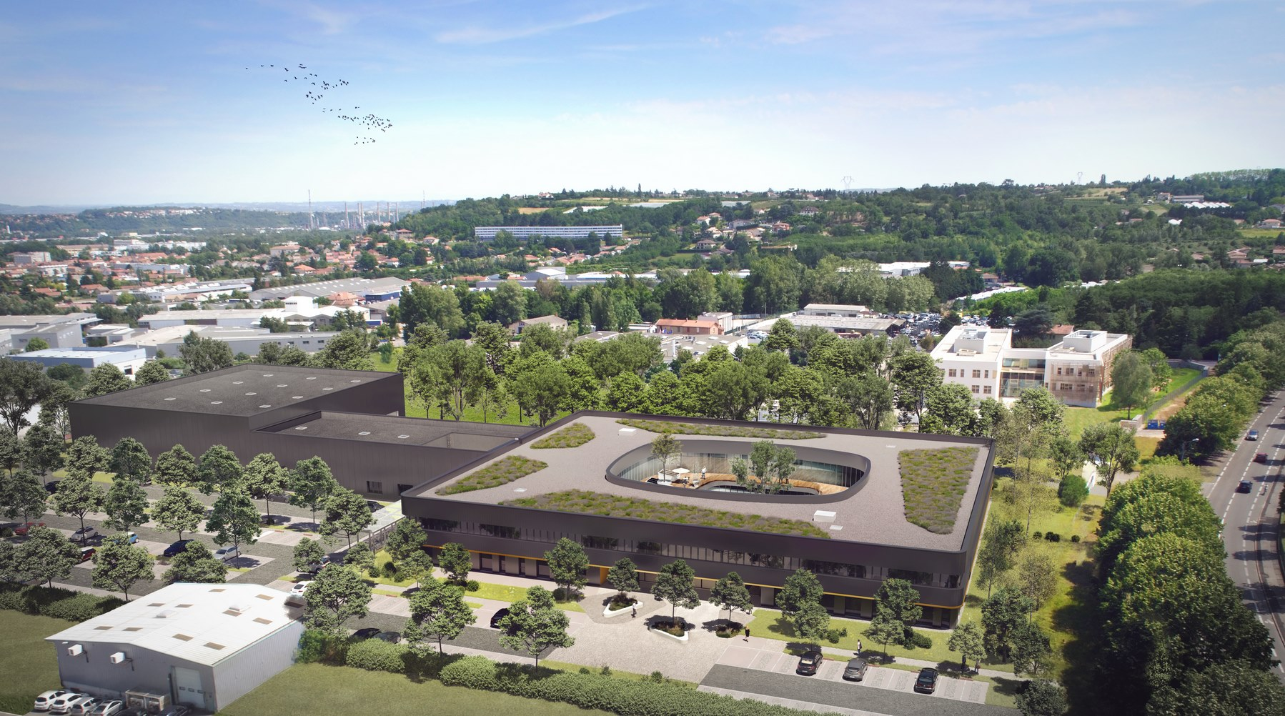 Siège mondial Tiama - Saint-Genis-Laval - Z Architecture