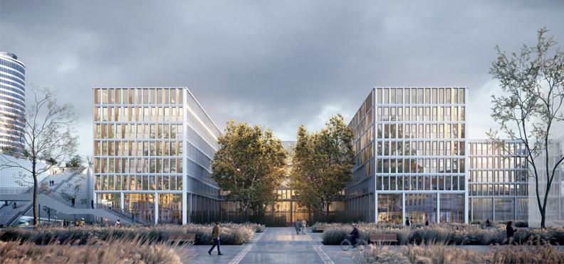 Nouvelle Cité Administrative d'État - Lyon Part-Dieu - Snøhetta & Z Architecture
