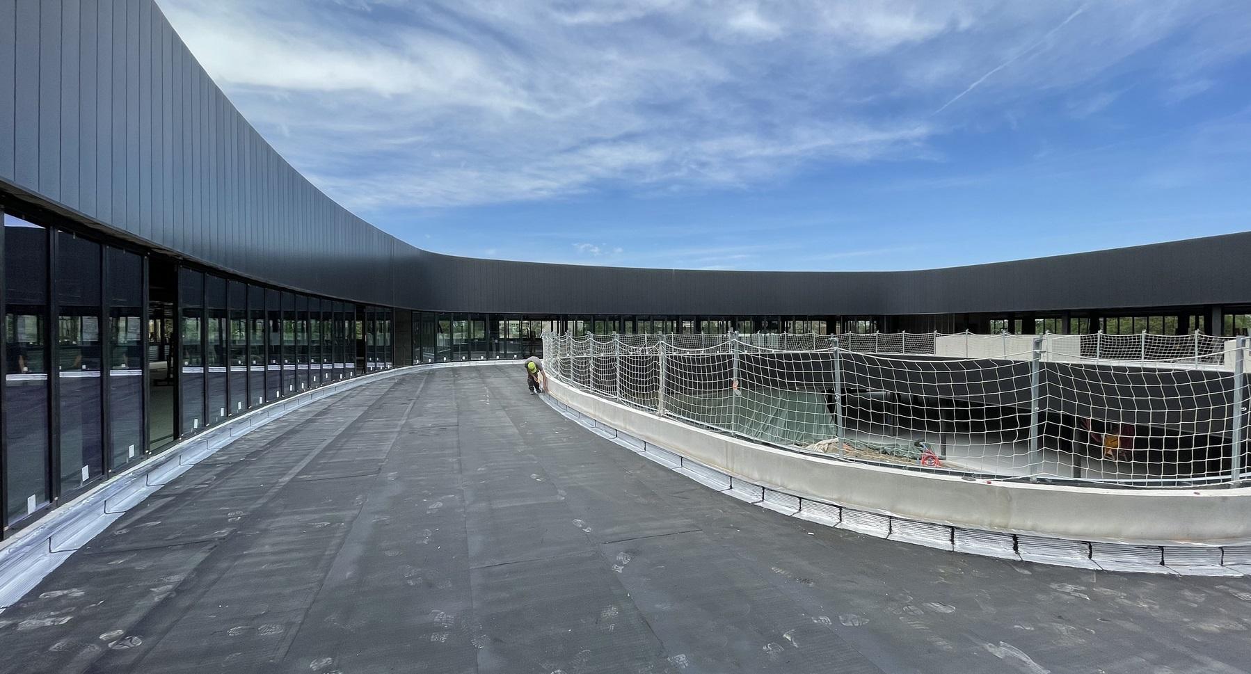 Siège mondial Tiama - Saint-Genis-Laval - Z Architecture - chantier